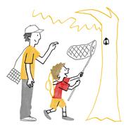 パパやママとの外出が知性を刺激する時期
